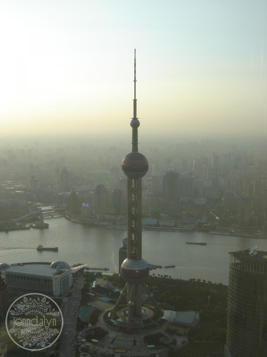 pearl tower shanghai china
